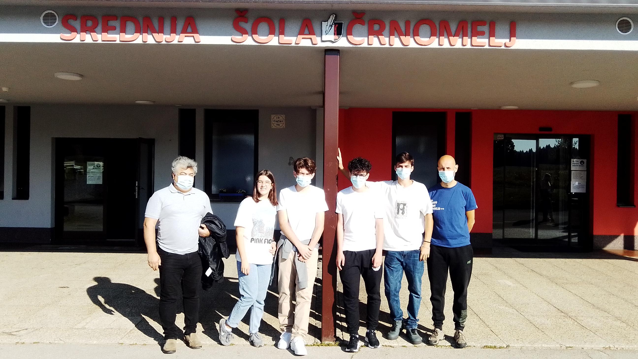 Delegação Portuguesa na Escola de Črnomelj, na Eslovénia